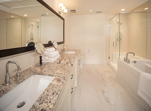 Champagne Penthouse Bathroom
