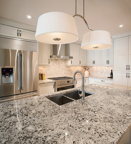 Champagne Penthouse Kitchen