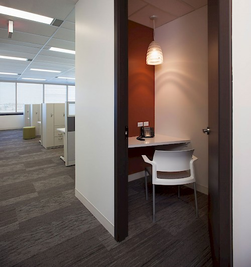 Parkside Stantec Privacy Alcove