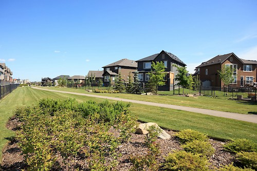 Cardel Homes in Quarry Park Park pathway